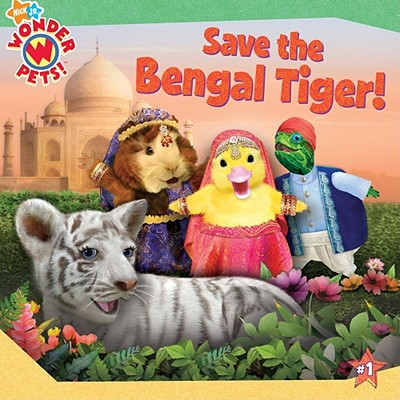 Image for Save the Bengal Tiger! (Wonder Pets!)