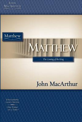 Image for Macarthur Study Guide Series: Matthew (Macarthur Bible Study)