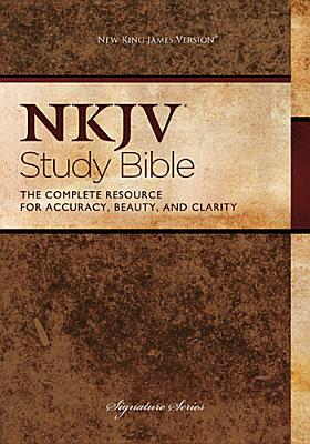 """Image for """"NKJV Study Bible: The Complete Resource for Accuracy, Beauty, and Clarity (Signature Series, 2882TN"""""""