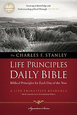 Image for Charles F. Stanley Life Principles Daily Bible, NASB