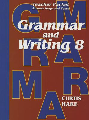 Image for Grammar and Writing 8:Teacher Packet