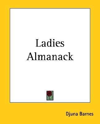Ladies Almanack, Barnes, Djuna