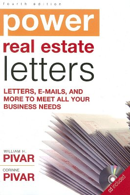 Image for Power Real Estate Letters (Power Real Estate Letters: Letters, E-Mails, & More to Meet All Busi)