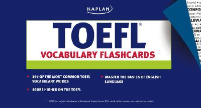 Image for TOEFL Vocabulary Flashcards