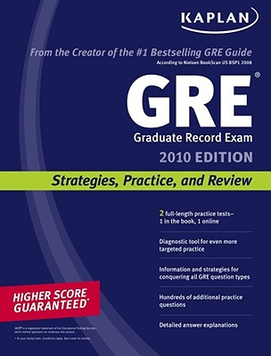 Image for Kaplan GRE Exam 2010: Strategies, Practice, and Review
