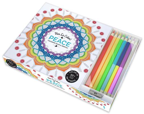 Image for Vive Le Color! Peace (Adult Coloring Book and Pencils): Color Therapy Kit