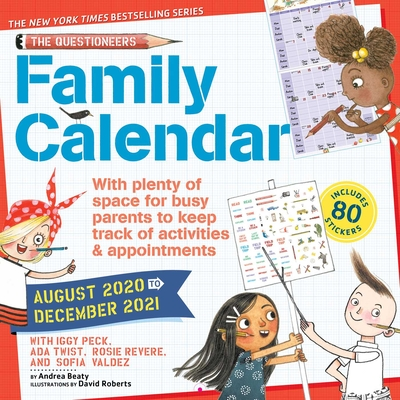 Image for QUESTIONEERS 17-MONTH 2020-2021 FAMILY WALL CALENDAR