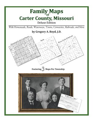 Family Maps of Carter County, Missouri, Boyd J.D., Gregory A.