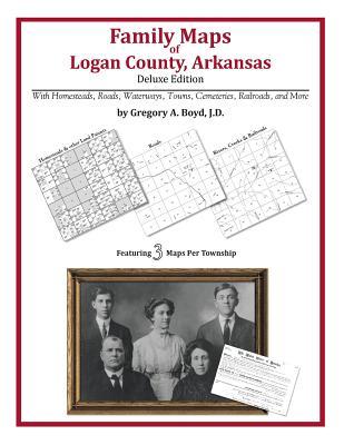 Family Maps of Logan County, Arkansas, Boyd J.D., Gregory A