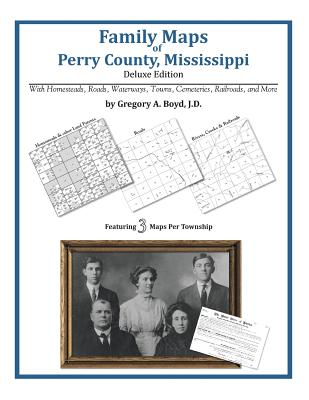 Family Maps of Perry County, Mississippi, Boyd J.D., Gregory A