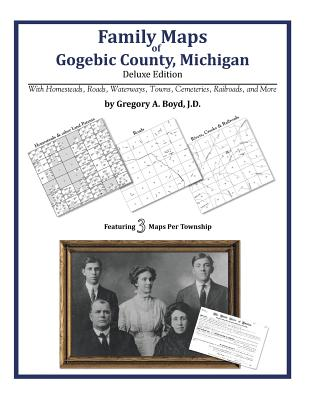 Family Maps of Gogebic County, Michigan, Boyd J.D., Gregory A