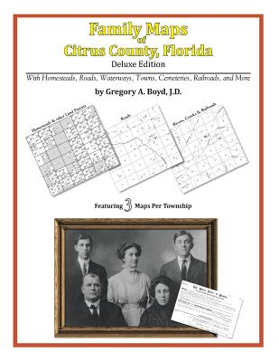Family Maps of Citrus County, Florida, Boyd J.D., Gregory A.