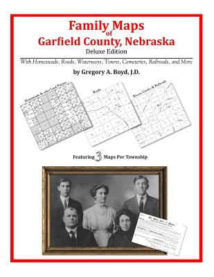 Family Maps of Garfield County, Nebraska, Boyd J.D., Gregory A.