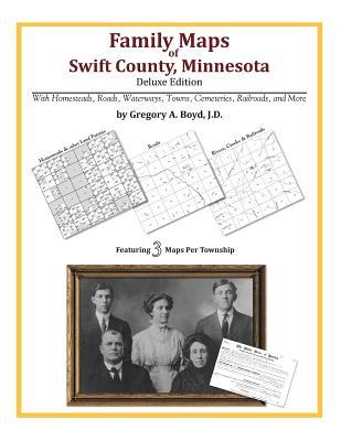 Family Maps of Swift County, Minnesota, Boyd J.D., Gregory A.