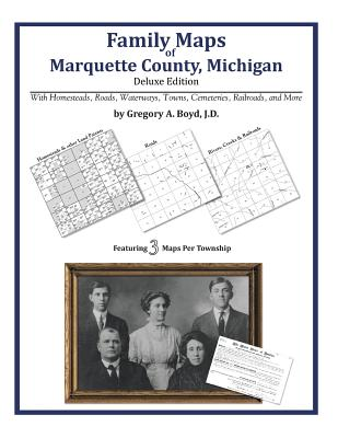 Family Maps of Marquette County, Michigan, Boyd J.D., Gregory A.