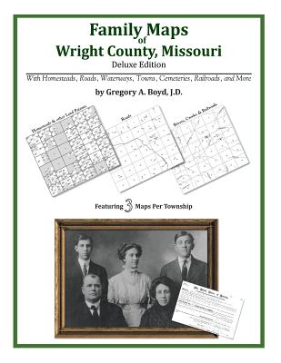 Family Maps of Wright County, Missouri, Boyd J.D., Gregory A.