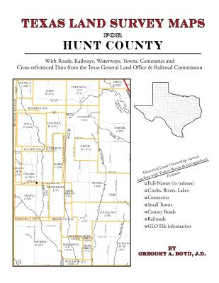 Image for Texas Land Survey Maps for Hunt County