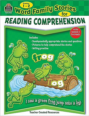 Image for Word Family Stories for Reading Comprehension Grd 1-2: Grades 1-2