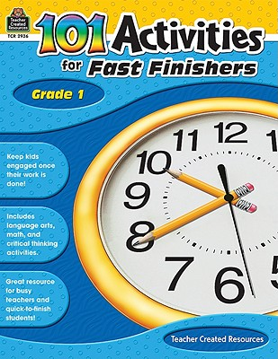 Image for 101 Activities For Fast Finishers Grd 1