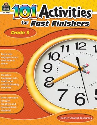 Image for 101 Activities For Fast Finishers Grd 5