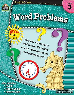 Image for Ready-Set-Learn: Word Problems Grd 3