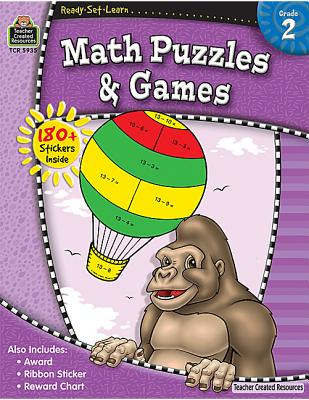 Image for Ready-Set-Learn: Math Puzzles and Games Grd 2
