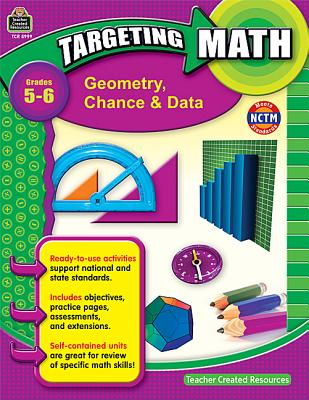 Image for Targeting Math: Geometry, Chance & Data