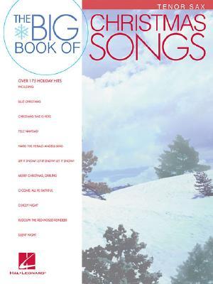 Image for Big Book of Christmas Songs Tenor Sax
