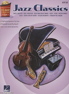 Image for Jazz Classics - Alto Sax: Big Band Play-Along Volume 4