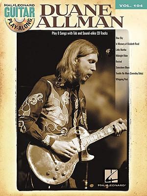 Image for Duane Allman: Guitar Play-Along Volume 104