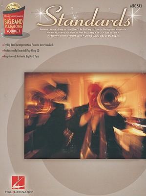 Image for Standards - Alto Sax: Big Band Play-Along Volume 7