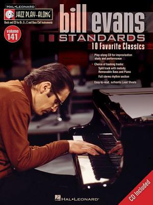 Image for Bill Evans Standards - Jazz Play-Along Volume 141(CD/PKG) (Hal Leonard Jazz Play-Along)