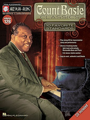 Image for Count Basie Classics: Jazz Play-Along Volume 126 (Hal Leonard Jazz Play-Along)