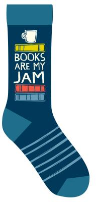 Image for Books Are My Jam Socks