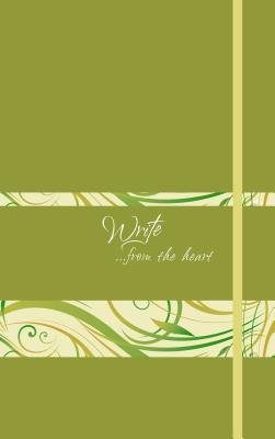 Image for Write Journal: ...from the heart (Spring Green)