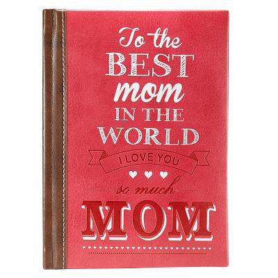 Image for GB043 To the Best Mom in the World (LuxLeather)