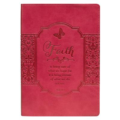 Image for Pink Faith Flexcover Journal - Hebrews 11:1