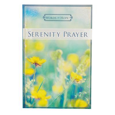 Image for MLB25 Words of Hope Serenity Prayer
