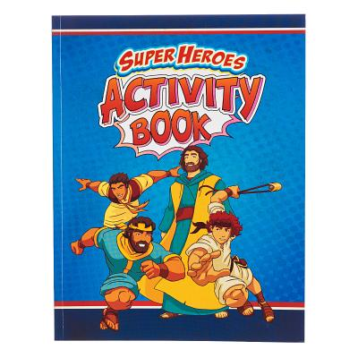 Image for KDS554 Activity Book Super Heroes