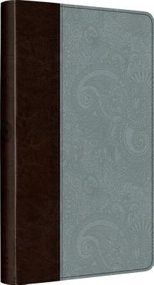Image for ESV UltraThin Bible (TruTone, Chocolate/Blue, Garden Design)