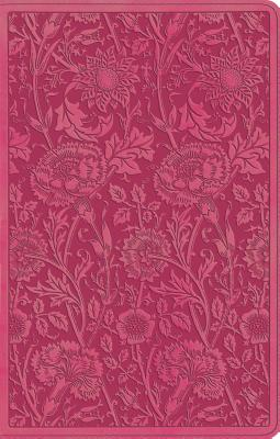 "Image for ""ESV UltraThin Bible (TruTone, Berry, Floral Design)"""