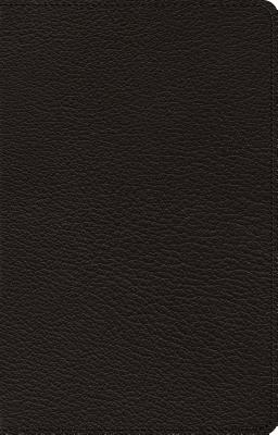 Image for ESV Heirloom Large Print Thinline Reference Bible (Goatskin, Black)