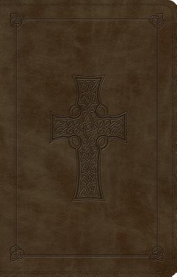 "Image for ""ESV Premium Gift Bible (TruTone, Olive, Celtic Cross Design)"""
