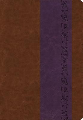 "Image for ""''ESV Giant Print Bible (TruTone, BrownPurple, Iris Design)''"""