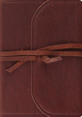 Image for ESV Journaling Bible, Interleaved Edition (Brown, Flap with Strap)
