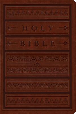 "Image for ""''ESV Single Column Personal Size Bible (TruTone, Brown, Engraved Mantel Design)''"""