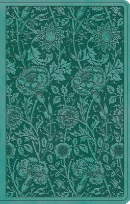 "Image for ""''ESV Premium Gift Bible (TruTone, Teal, Floral Design)''"""