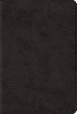 "Image for ""ESV Large Print Compact Bible (TruTone, Black), soft imitation leather"""