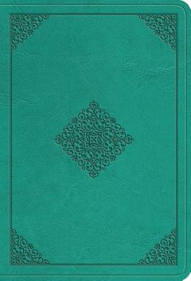 "Image for ""ESV Value Large Print Compact Bible (TruTone Imitation Leather, Teal, Ornament Design)"""