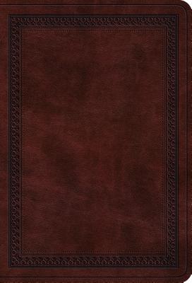 Image for ESV Value Large Print Compact Bible (TruTone, Mahogany, Border Design)